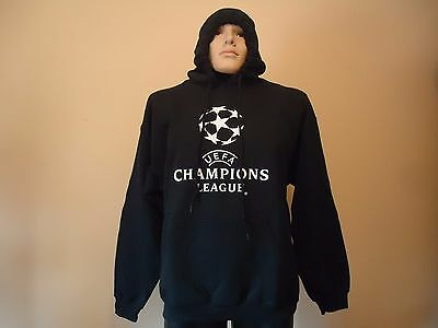 Uefa Champions League Official Licensed Mens Jumper Hoodie Xl New