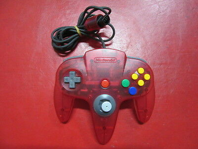 Controller Bros (Nintendo 64) (Clear Red) Accessories JP GAME.