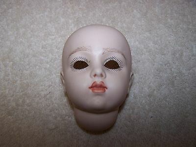 Antique Reproduction Bru Doll Head  Artist Made