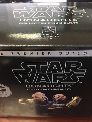 Gentle Giant Ugnaughts Exclusive Mini Busts 2016 PG Premier Guild Exclusive