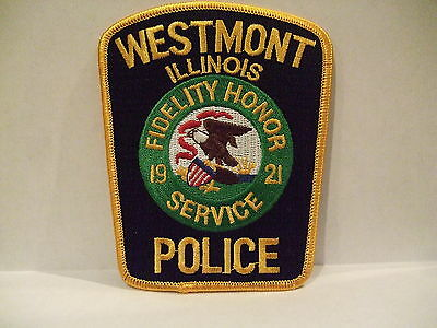 police patch   WESTMONT POLICE ILLINOIS