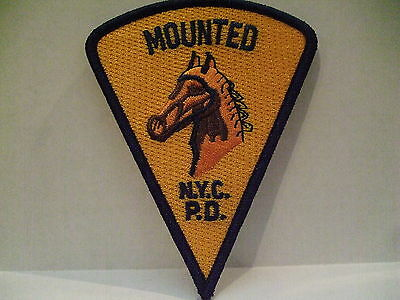 police patch  NEW YORK  CITY MOUNTED  POLICE NEW YORK