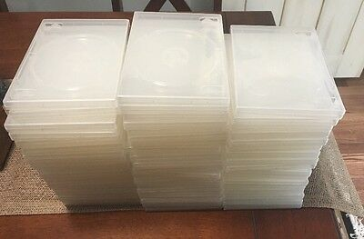 50 STANDARD Clear Single DVD Cases