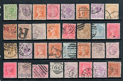 Victoria - 32 x VIC Stamp Duty Selection, Fine Used