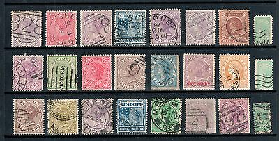 Victoria - 24 x VIC Postage Selection, Fine Used
