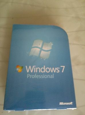 Microsoft Windows 7 Professional PRO 32 and 64 Bit Full Version