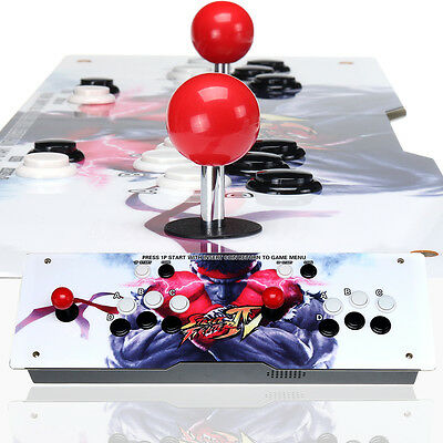 Metal Double Stick Arcade Gamepad Console - 680 Classic Games - 2 Players