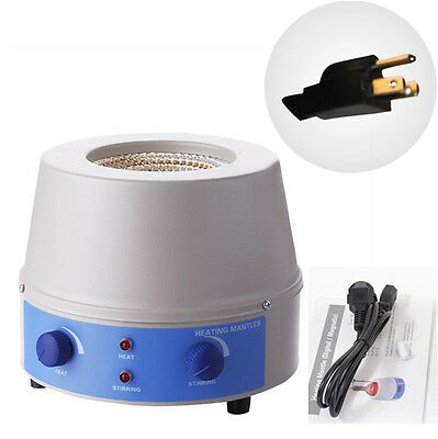 Electric Cotrol Magnetic Temperature Heating Mantle For Liquid Heating Stirring