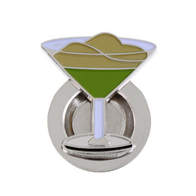 Goblet Pattern Magnetic Hat Clip Golf Ball Marker Suit for Golf Cap Visor