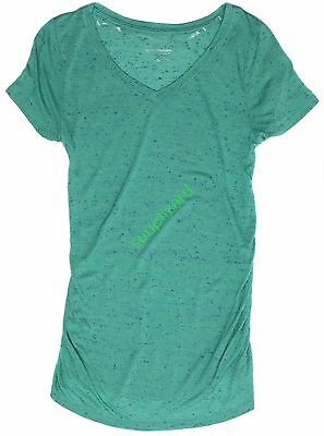 New Womens Maternity Mint Tee T-Shirt Shirt Top Liz Lange NWT size sz M