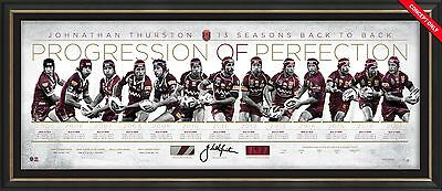 Johnathan Thurston – Origin Progression Of Perfection – Signed & Framed