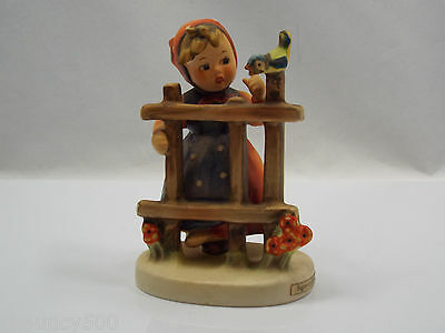 Goebel Hummel Figurine 203 2/0 Signs of Spring W. Germany TMK4