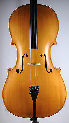 An interesting Swedish cello by K. Hellekant, case and bow