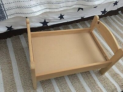 Wooden IKEA Dolls Bed DUKTIG