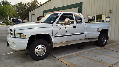 2000 Dodge Ram 3500 SPORT PKG DODGE RAM DIESEL DUALLY QUAD CAB SPORT 4WD LOADED RUNS/LOOKS GREAT- 2ND OWNER