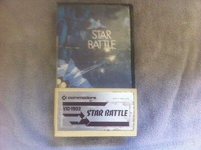 star battle commodore/vic 20 with instructions RARE
