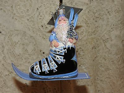Patricia Breen Jeweled Verbier Claus Ski Boot 2016 Blue