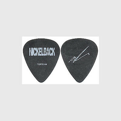 Nickelback Mike Kroeger 2006 All the Right Reasons tour custom stage Guitar Pick