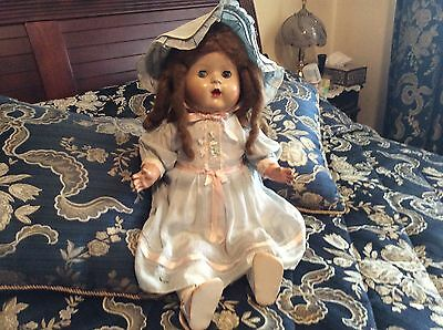 Rare Vintage Australian Vera Kent Doll In Original Outfit.