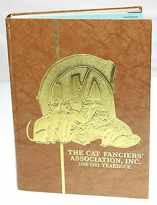 THE CAT FANCIERS ASSOCIATION, INC English 1991 Hardcover