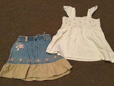 2 Items Baby Girls Clothing 18-24 Months
