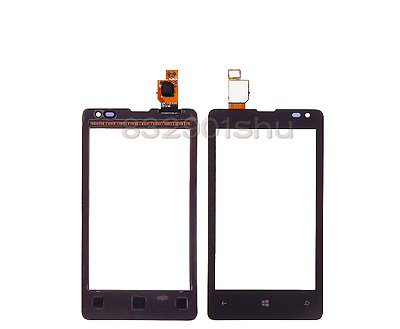 4 inch Black Touch Screen Digitizer for Nokia Lumia 435 532 display free ship