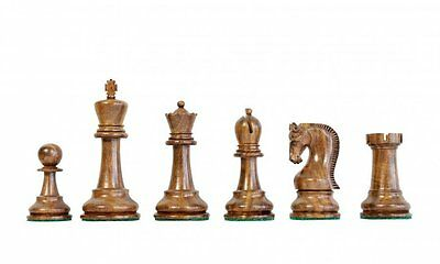 Leningrad Golden Rosewood Chess Pieces