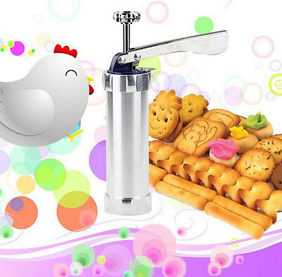 Biscuit Cookie Press Maker Machine Kitchen Baking Cake Pastry Nozzle Mold Tools