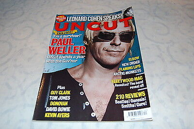 New Order/the Cure - 'uncut' Magazine December 2008'