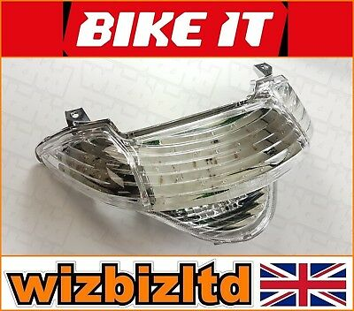 Clear LED Rear Light Inbuilt Indicators Honda VFR 800 Fi 1998 LEDH039
