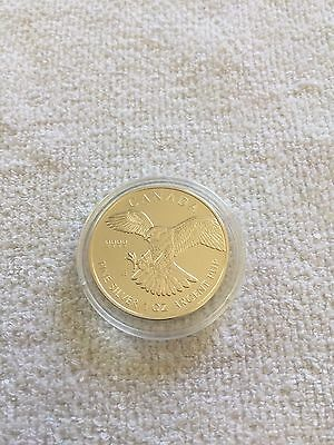 1oz Canadian Hawk 999 Silver coin 2014