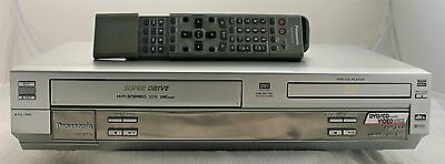 Panasonic NV-VP31 DVD Player VHS VCR Video player combo combi with Remote
