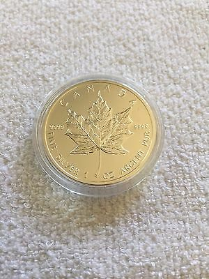 1oz Canadian Maple 999 Silver coin 2012