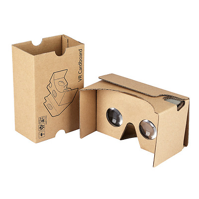 Upgrade Cardboard 3D VR Virtual Reality Google2.0 Movie/Game Glasses Phones Fit