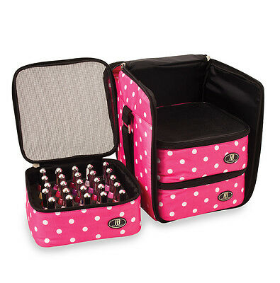 Roo Beauty Nail Polish Varnish Cube, Manicure Storage Bag, Makeup Cosmetic Case