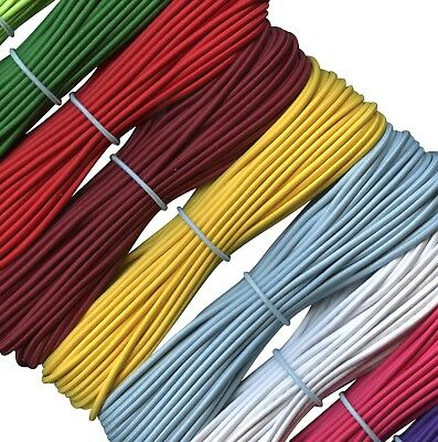 Round Elastic cord - stretch bungee cord  - 2 mm, 3 mm, 4 mm,  5 mm diameter