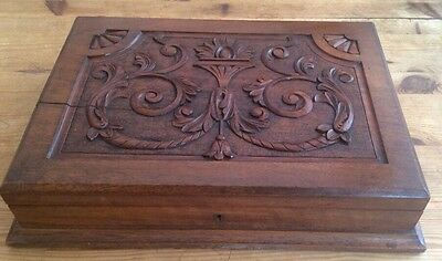 Decorative Antique Cutlery  box For Conversion With Key.