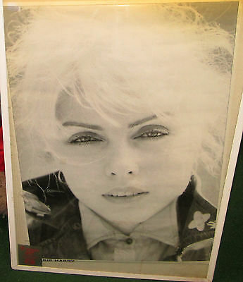 Blondie Poster Live New Never Opened Late 2000's Vintage Close Up Debra Harry