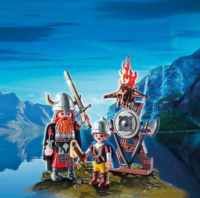 PLAYMOBIL® 9209 Vikings with Shield - NEW 2017 - S&H FREE WORLDWIDE