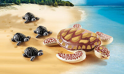 PLAYMOBIL® 9071 Water turtle with baby - NEW 2017 - S&H FREE WORLDWIDE
