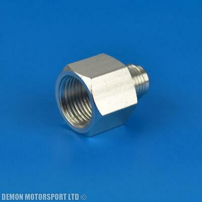 AN8 -8 Female To AN6 -6 Male Reducer Adapter Joiner Fitting SILVER