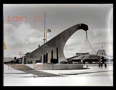 Fotografia Photo Vintage 1970 Press Foto Architettura Osaka Giappone Japan Expo