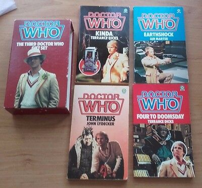 Doctor Who The Third Doctor Gift Set - 4 Book Set