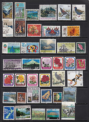 New Zealand - Attractive Stamp Selection with High Values  2 SCANS (NZ25051)