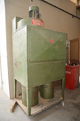 industrial woodwork shop dust collector