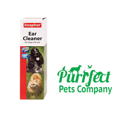 Beaphar Ear Cleaner Drops for Dogs & Cats 50ml (LOW PRICE)