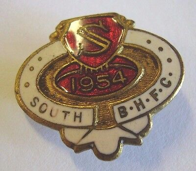 1954 South Broken Hill Football Club Member Badge