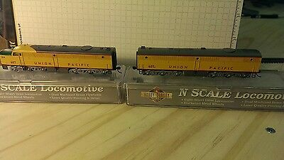 N Scale Locomotive Walthers PA/PB Union Pacific