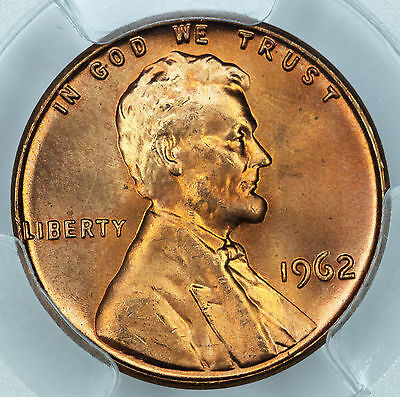 1962 PCGS MS66+RD Lincoln Cent