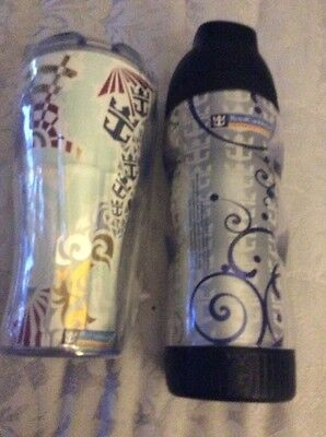 2 Cups From Royal Caribbean Cruise Ship. 1 New